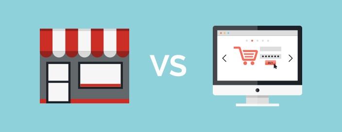 Store shopping vs Online Shopping - Emcor Philippines